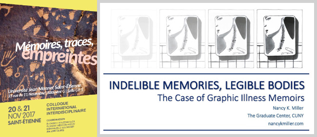 nancy k miller - indelible memories - graphic memoir