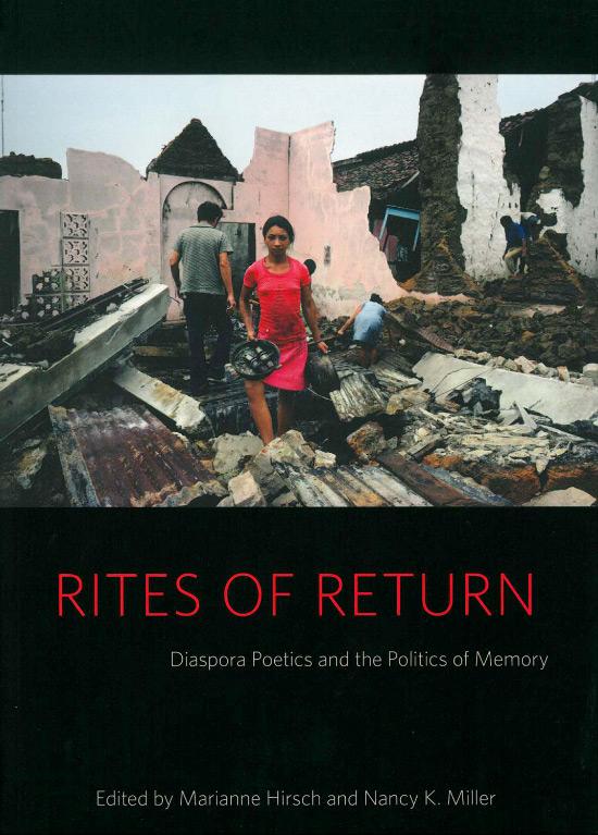 Nancy K. Miller. Rites of Return