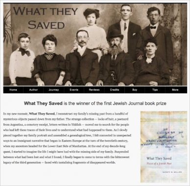 Nancy K. Miller. What They Saved