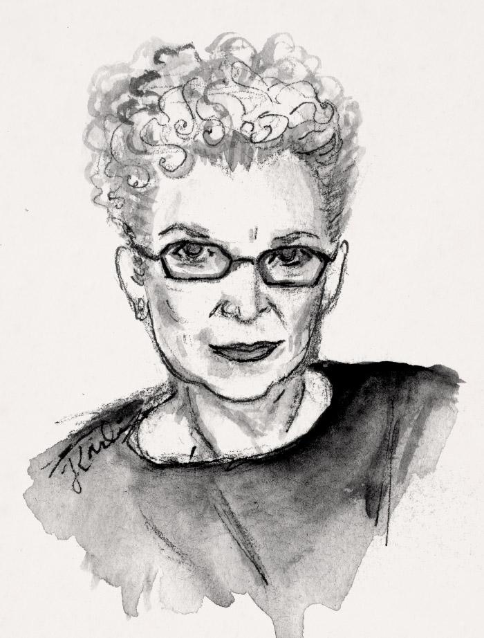 Nancy K. Miller by Jojo Karlin